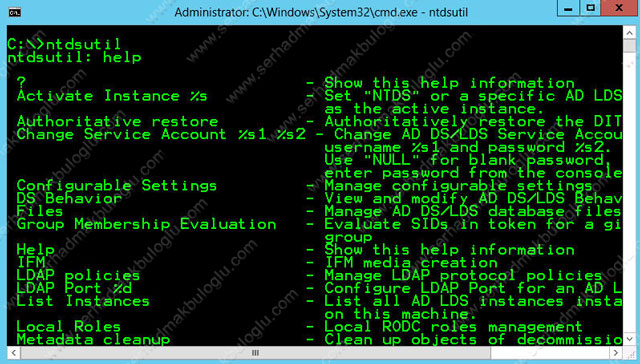 Windows Server 2012 Developer Preview Active Directory Snapshot
